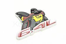 1Pcs Luxury Emblems Charger 6.4L Auto Fender Scat Trunk Lid Sticker Decoration