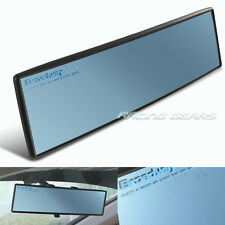 Broadway 300mm Wide Convex Blue Interior Clip On Rear View Mirror Universal 3