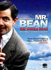 MR. BEAN~THE WHOLE BEAN DVD~ 4 DISC SET~25TH ANNIVERSARY COLLECTION