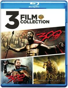 300/300: Roe/Troy [New Blu-ray] 3 Pack, Eco Amaray Case