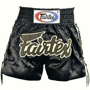 "Fairtex ""BLACK LACE"" Muay Thai Kickboxing Shorts - BS0601 - BLACK"