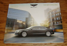 Original 2014 Bentley New Flying Spur Hardcover Book Sales Brochure 14