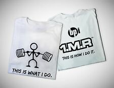 "1.M.R ""This Is How I Do It"" XL Workout and Training T-Shirt (2 Pack)"