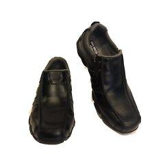 Skechers Mens Diameter Shoe With Memory Foam 61779 Black Size 10 Casual Slip On