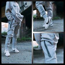 Nike 50 Tech Fleece Hombre Talla L Jogger Pants Gris Lobo CJ4504 902