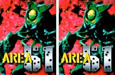 Area 51 Side Art Panels Cabinet Graphics Stickers Reproduction