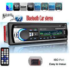 1DIN Coche Radio Bluetooth Estéreo MP3 Player Head Unit 12V FM AUX USB Autoradio