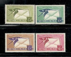 VIETNAM - AIR POST - SET #C11-4 - MNH - YR 1960