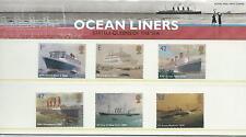 wbc. - GB - PRESENTATION PACK - 2004 - OCEAN LINERS