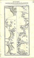 Carte antique, Édimbourg à Carlisle (2)