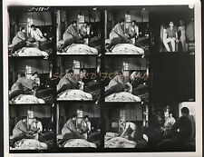 JAMES BOND YOU ONLY LIVE TWICE RARE 8X10 CONTACT SHEET SEAN CONNERY MIE HAMA