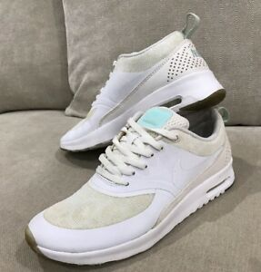 Women's Nike Air max Thea Glow In The Dark White Shoes 6 US 23cm [WS2]