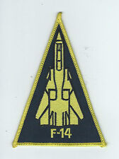 VF-14 TOPHATTERS F-14 TRIANGLE patch
