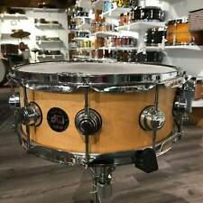 Used DW Collectors Maple Snare Drum 14x5.5 - Natural Satin