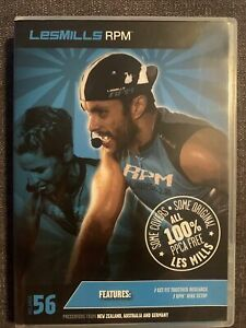 Les Mills RPM 56 CD DVD Instructor Notes Set workout gym weights home