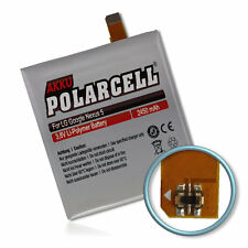 polarcell Battery for LG Google Nexus 5 D821 D820 BL-T9 2450mAh Battery Battery