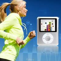 "3.5mm Portable Silm 8GB 1.8"" LCD MP4 MP3 Video Player Game Movie Audio FM Radio"