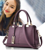 Women Leather Handbags Shoulder Lady Messenger Crossbody Tote Bags Purse Satchel