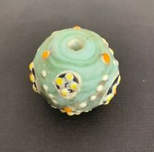 Alte Glasperle, ,Old Glass Bead Indonesien Java China Tibet Nepal Buddha 75