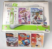 Nintendo Wii Fit Balance Board Brand NEW in Box w/ 6 Bonus Games Bundle Lot Plus