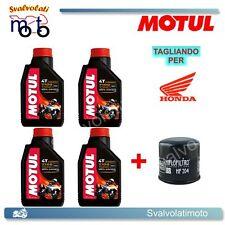 TAGLIANDO FILTRO OLIO + 4LT MOTUL 7100 10W40 HONDA CBR 600 F 2005