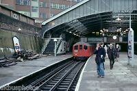 London Underground 38 Stock Morden 14/04/78 Rail Photo
