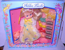 #7957 NRFB Vintage Cititoy Golden Locks Doll with Hair Accessories
