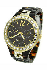 NEW GUESS MULTI-FUNCTION CRYSTAL CASE 100M LADIES WATCH U0078L1