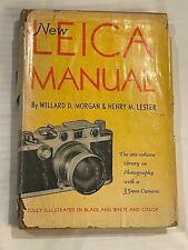 New Leica Manual, hardback book, - 1951, 12th, Edition
