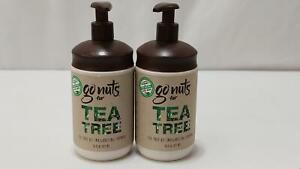 Go Nuts Tea Tree Oil Aloe Invigorating Shampoo 16 Oz Each 2 Bottle 020