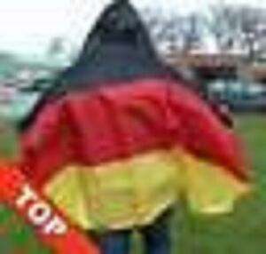 Flagge Deutschland Bodyflag Umhang mit Kapuze