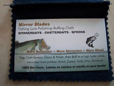 Mirror Blades Spinnerbait-Chatterbait-Spoon>  Blade Polishing/Buffing Cloth