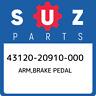 43120-20910-000 Suzuki Arm,brake pedal 4312020910000, New Genuine OEM Part