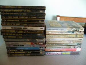 books J.T. EDSON cowboy western paperback and hardback