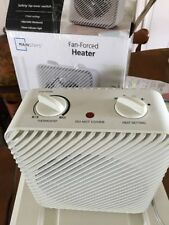 Electric Portable Compact Heater 1500W Fan Desktop Living Room Warmer Thermostat