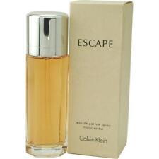 NIB Not a tester Calvin Klein Escape Women Eau de Parfum Spray 100 ml 3.4 fl.oz