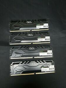 OLOy DDR4 RAM 64GB (4x16GB) 3000 MHz CL16 1.35V 288-Pin Desktop Gaming UDIMM