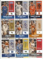 Not Autographed Basketball Trading Cards Lot 2016-17 Season