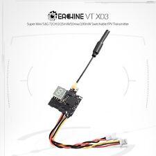 Eachine VTX03 FPV Super Mini Sender 5.8G 72Ch 0/25/50/200mW schaltbar