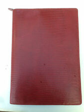 Filofax A4 Luxe Zip Folder red