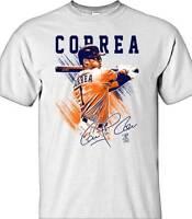 Carlos Correa Houston Astros # MLBPA Pastel Youth Boys Tee Shirt