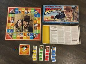 Indiana Jones Raiders of the Lost Ark Board Game Parker Brothers Harrison Ford
