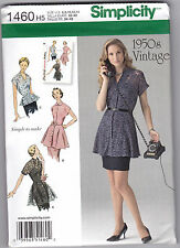 From UK Sewing Pattern Top 1950's retro 30-36 bust #1460