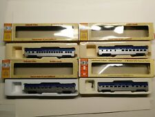 New ListingHo Scale - Con-Cor Lot of (4) Nickel Plate Road 72' Passenger Car Trains