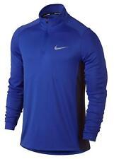 Nike Dry Miler Half Zip Men's Long Sleeve Running Shirt Size S
