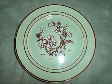"Franciscan Pottery ""Tiger Flower"" Dessert Plate! CELANDON Green Color!"