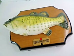Vtg Big Mouth Billy Bass 1999 Moving Singing Fish - WORKS GREAT