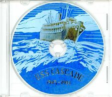 USS Cascade AD 16 CRUISE BOOK War Log 1943 - 1944  WWII on CD Navy