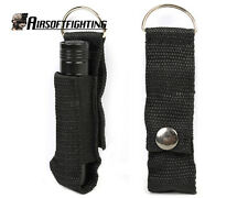 Water Repellent Nylon LED Flashlight Pouch Holster Black for SureFire Fenix A