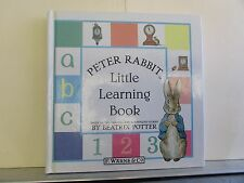 Peter Rabbit's Little Learning Bk  Beatrix Potter  NEW  HC - ABC, 123, Time More
